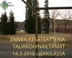 Talvikohinailtamat 14.3.2015 Liekkilä
