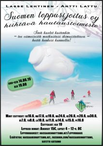 Kesäteatteri Naissaaressa, Suomen Loppusijoitus -Hiihtävä hautaustoimisto 2019.